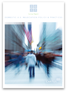 What are the latest trends for relocation services within the United States?