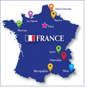 France map with cities 2019.png