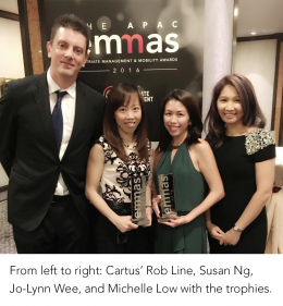 Cartus Wins Relocation Management Company of the Year for the Fifth Year in a Row!