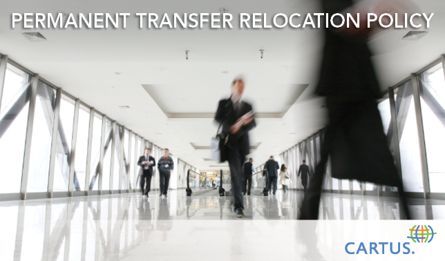 Structuring a Permanent Transfer Relocation Policy