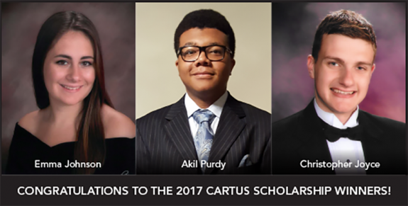 2017 SCHOLARSHIP WINNERS